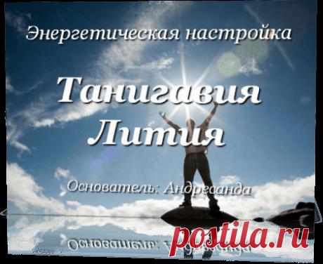 Энергетическая настойка Танигавия Лития — Андресанда