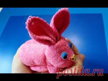 Как Сделать Пасхального Кролика из Салфетки Своими Руками Пасхальные поделки/DIY^Easter bunny make