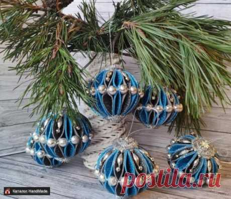 Украшения для ёлки новогодние шары HandMade ручной работы купить в Минске и Беларуси, цены на HandMade