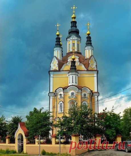 Церковь Воскресения Христова, город Томск.