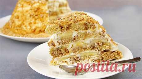 Самый простой и вкусный торт! Не нужно ничего выпекать, разводить, взбивать или...