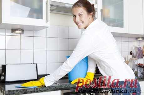 Генеральная уборка кухни. Средства для чистки кухни.