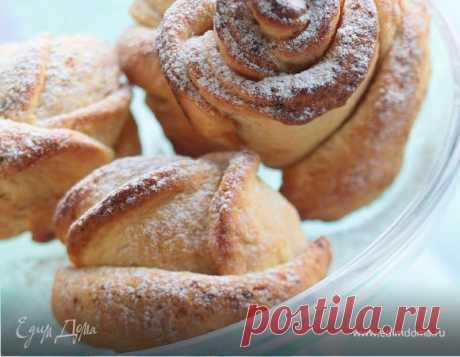 Как приготовить Розочки из творога Пошаговый рецепт с ингредиентами и фото