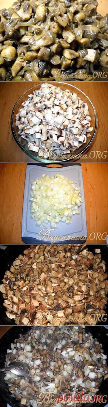 Жареные грибы. Рецепт с фото