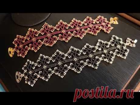 Boncuk Oyası Bileklik / Bead Lace Bracelet Making - YouTube
