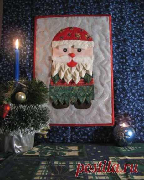 Dublirin-Шьем сами-Дед Мороз своими руками