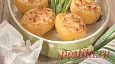 Фаршированный картофель с орехами и сыром — Sloosh – кулинарные рецепты