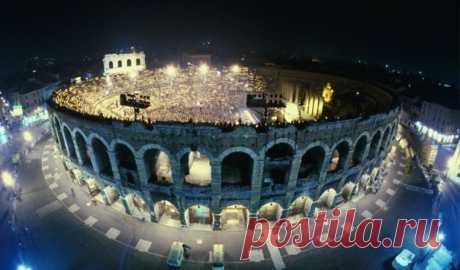 Верона - Арена с большой буквы - Путешествуем вместе