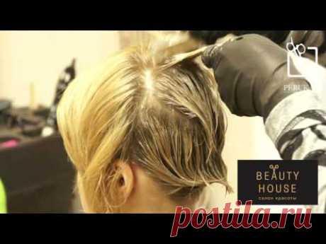 Репигментация - насыщение волос пигментом для ровного окрашивания