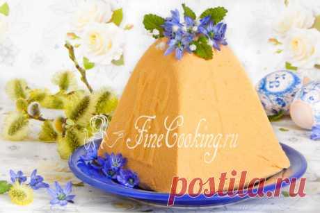 Пасха творожная тыквенная Творожная пасха с тыквой по этому простому рецепту однозначно порадует тех, кто обожает блюда с вкусной и полезной оранжевой красавицей.