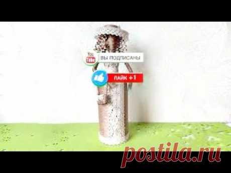 Как сделать куклу из газет и джута? Очень красивый подарок своими руками. DIY/рукоделие