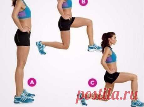 5 Упражнений, которые заменят целый час полноценного фитнеса в спортзале Иногда на них тренировку просто не хватает времени.