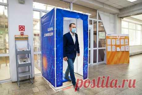 Кабина дезинфекции и термометрии для человека: использование тоннеля персоналом, обеззараживающий эффект, помогает ли от коронавируса