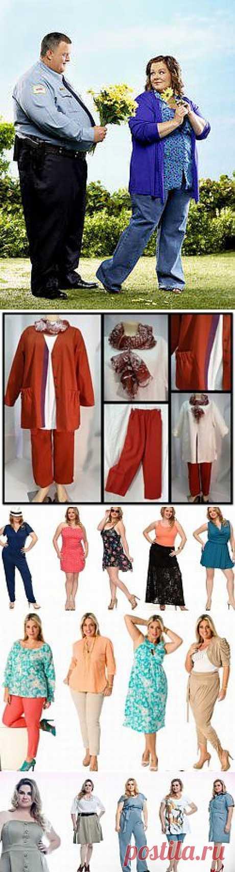 Летняя коллекция женской одежды больших размеров. Часть 1