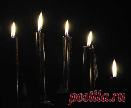 Христианский обряд снятия порчи с себя (с 5-ю черными свечами)  Для обряда нужны 5 черных свечей (четыре установить на пол в виде квадрата, самиже станьте в центр образовавшегося квадрата, удерживая обеими руками пятую свечу).Зажгите свечи - все 5, начиная с тех…
