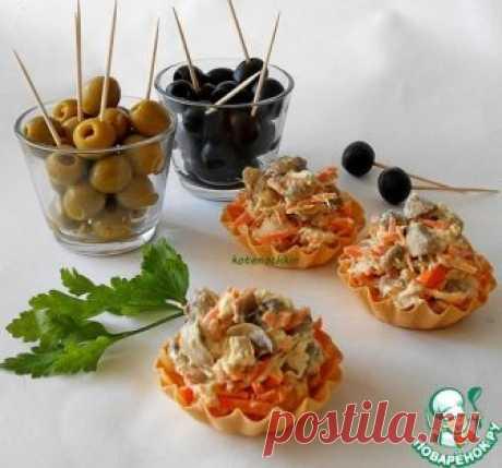 Салат «Фуршетный» – кулинарный рецепт