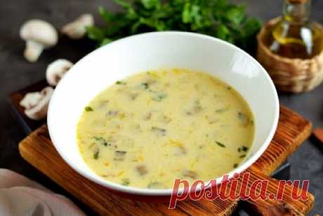 Вкуснейший суп из кабачков с плавленным сыром