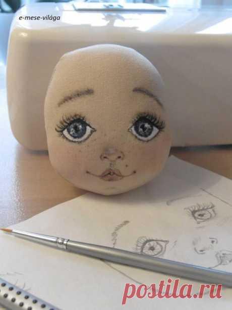 Примеры росписи кукольных лиц | all Dolls