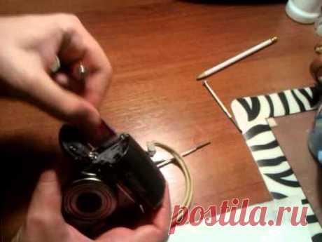 Ремонт Canon A590 (быстро разряжается батарея) - YouTube