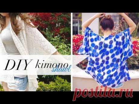 КИМОНО  -  простой Видео-урок шитья !..   // Простые выкройки