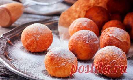 Как приготовить воздушные творожные пончики | Pentad