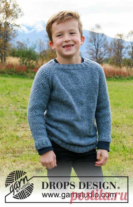 Детский джемпер Blue August - блог экспертов интернет-магазина пряжи 5motkov.ru