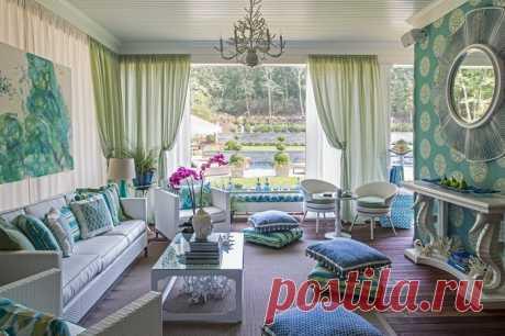Выбор штор для дома — Интерьер и Декор