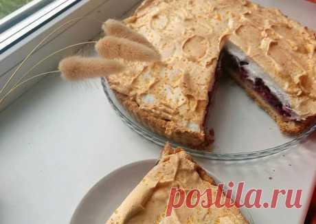(13) Пирог с меренгой - пошаговый рецепт с фото. Автор рецепта Ксения Литягина☀️ . - Cookpad