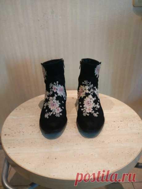 Обновление немодной обуви (diy)