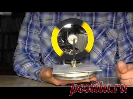 Двигатель Стирлинга из манометра (+гигрометр)