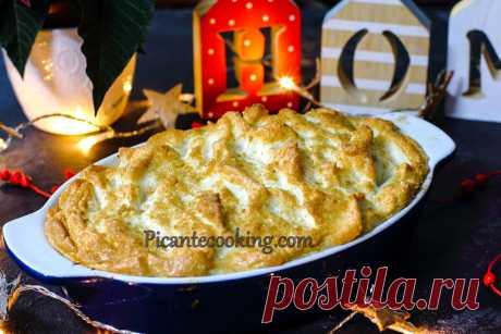 """Королева пудингів з журавлиною (Cranberry Queen of Puddings) Надзвичайно простий та смачний аристократичний десерт. Королева пудингів з журавлиною за рецептом з книги """"Щасливе Різдво"""" авторства Делії Сміт."""