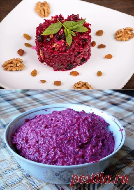 Салат из свеклы с черносливом / Простые рецепты