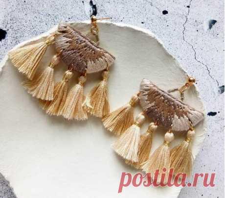 Филиппинская вышивальщица делает нежные украшения для романтичных барышень | MIAZAR | Яндекс Дзен