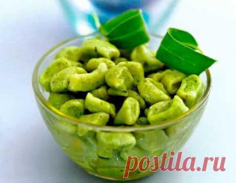 Рецепт Итальянские ньокки картофельные со шпинатом в домашних условиях