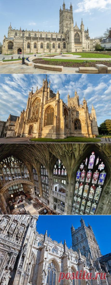 Красивейший храм Англии -Глостерский собор VS Хогвартс