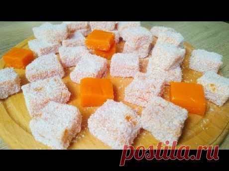 Приготовила ТРИ ПОРЦИИ ПОДРЯД! Потрясающе Вкусный ДЕСЕРТ ИЗ ТЫКВЫ! Pumpkin dessert English subtitles
