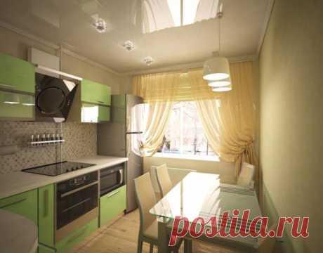 Дизайн кухни в 8 метров: фото, выбор стиля и планировки