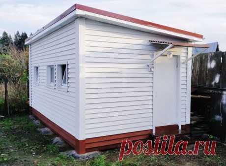 Дешевый фундамент из резиновых покрышек для легких построек