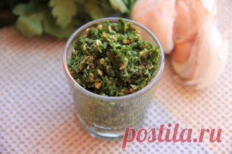 Витаминная аджика из весенней зелени - пошаговый рецепт с фото - Готовим счастье на Леди Mail.Ru - Philips