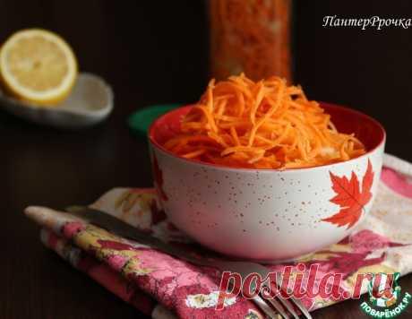 Полезная морковь по-корейски – кулинарный рецепт