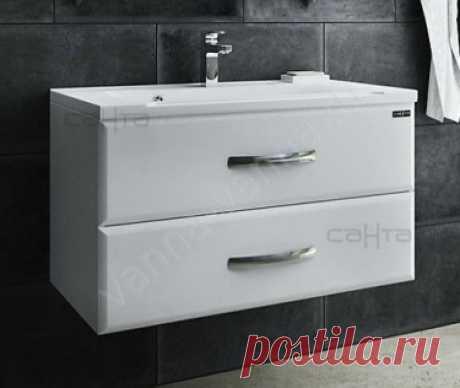 El pie con el fregadero para de baño Santa Viktoriya 60 cm colgante