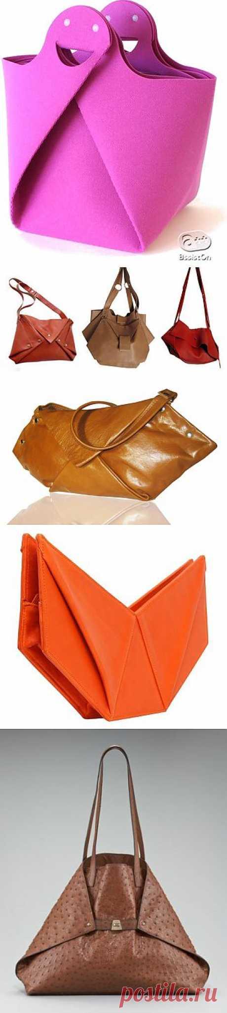 Сумки-оригами / Простые выкройки / Модный сайт о стильной переделке одежды и интерьера