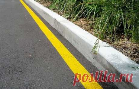 Значение желтой разметки на дороге   Делимся советами