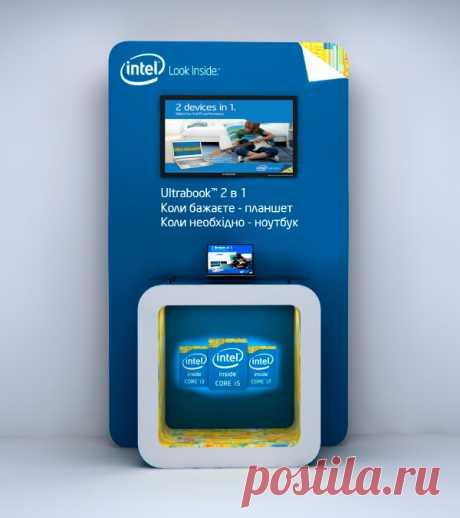 Визуализация и дизайн торгового оборудования для Intel
