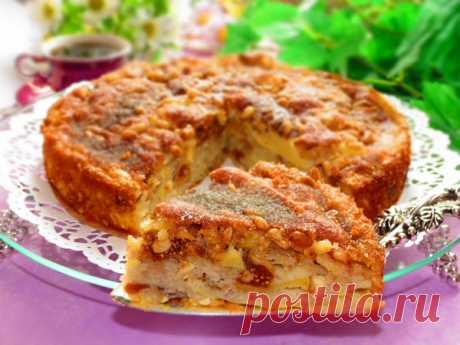 Сицилийский яблочный торт…. Это искушение, а не рецепт!