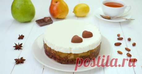 Грушевый торт: готовим и без теста, и без выпечки