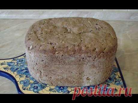 ХЛЕБ на ЗАКВАСКЕ. Как приготовить ржаной хлеб? - YouTube