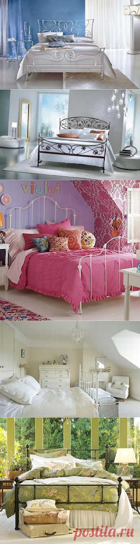 (+1) тема - Железные кровати - украшение любого интерьера | Интерьер и Дизайн