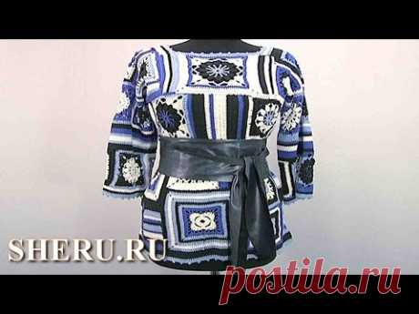 Tunic in equipment a patchwork the Lesson 140 - YouTube