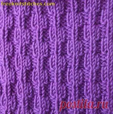 Free knittings for women of balls of an edge
